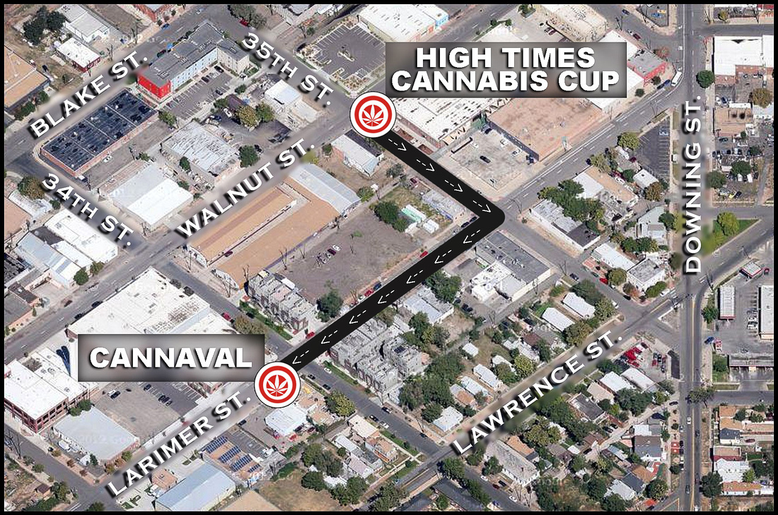 Cannaval High Times Cannabis Cup After Party 2013 Denver