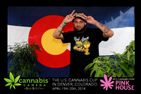 Cannabis Camera's Bud Booth at The U.S. High Times Cannabis Cup