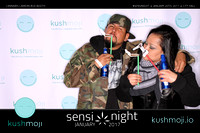 Cannabis Camera Sensi Night Photo Booth. January 2017