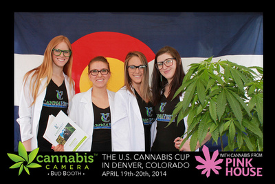 Cannabis Cup Photo Booth